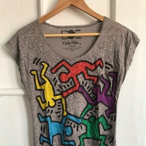 Adorable Urban Outfitters Keith Harring Top